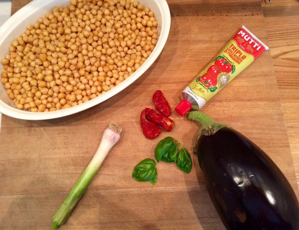 Polpette ceci e melanzane - Corsi cucina piacenza ...